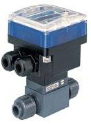 Durchflusstransmitter - Durchfl. 0,3 bis 10m/s - für Rohr-Ø bis 65mm - mit Flüge