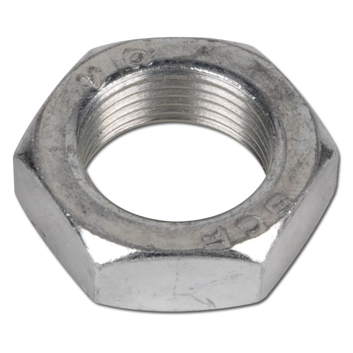 Zylinderkopf-Befestigungs- und Kolbenstangenmuttern - Stahl verzinkt und VA 1.43