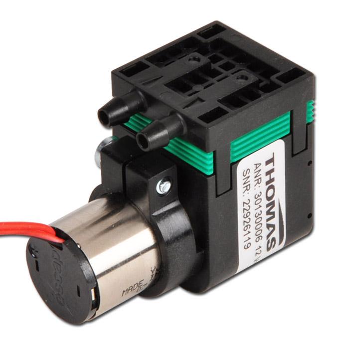 Pompa a membrana serie 3013G - max. 1,1 l/min - motore a campana DC - azionato elettrico