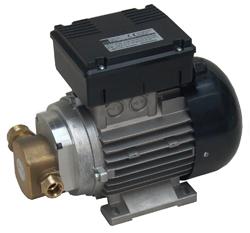 Elektrisk kugghjulspump - sughöjd max. 2,5 m - 25 l/min - 16 bar