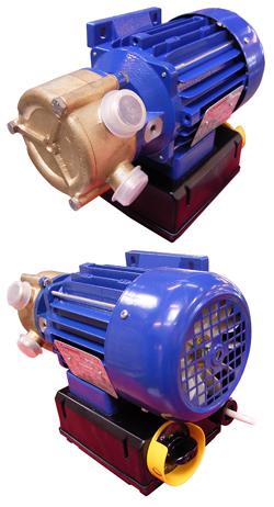 Pompa elettrica Binda Nautic - acciaio inox - 0,45 fino 1,5 kW
