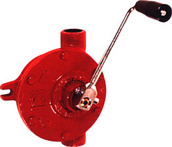 Crank pump PATAY manually - cast iron