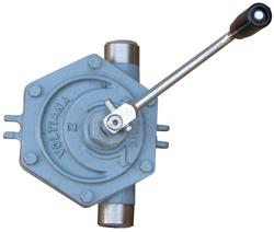 Pompa a rotazione BINDA Voltiana - manuale - in acciaio inox