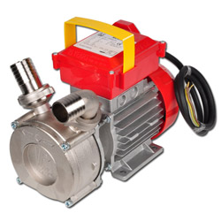 Centrifugal pump 400 V series BE-T- rustfree - suitable for food