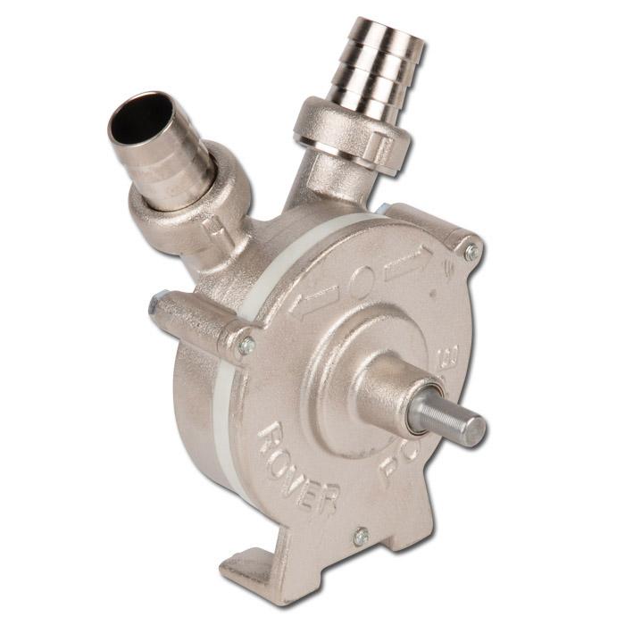 Kreiselpumpe NOVAX Drill als Bohraufsatz - max. 0,6 PS - max. 2500 l/h - rostfrei
