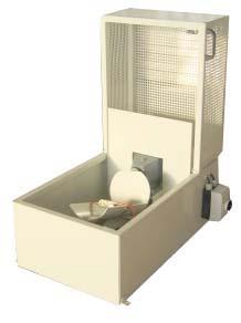 Taumelmischer für 9kg-Klebebehälter - 0,25 kW