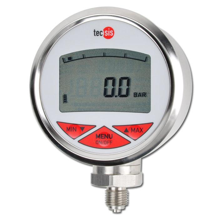 Manometer - digital - Mätområde till 700 bar - 2 displayer - programmerbar
