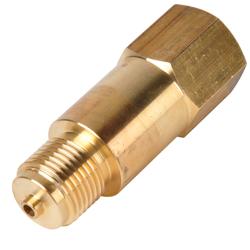Distansstycke för mätklockehållare - mässing/stål/CrNi-stål
