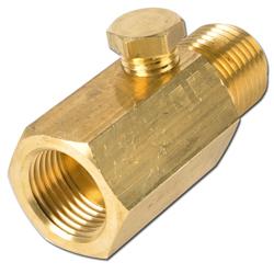 dispositivo della valvola a farfalla Manometro, ottone regolabile / acciaio / VA