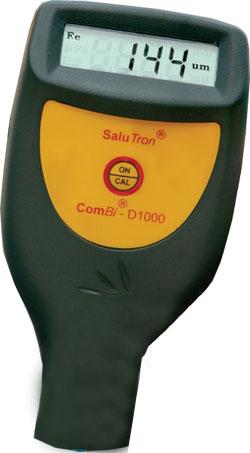 Schichtdickenmeßgerät  SaluTron D1000 -Fe/NFe Meßbereich 0 - 1250 µm für eisenha