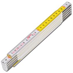 """Gliedermaßstab """"Sola HF2/10"""" - Glasbirkenholz - 2 m - 10 Glieder"""
