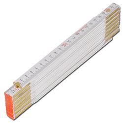 Mètres pliants - bois de hêtre - 3 m - 15 segments - vendus par 10