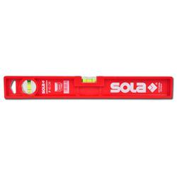 Kunststoffwasserwaage Sola - mit 2 Libellen Länge 40-80 cm - P