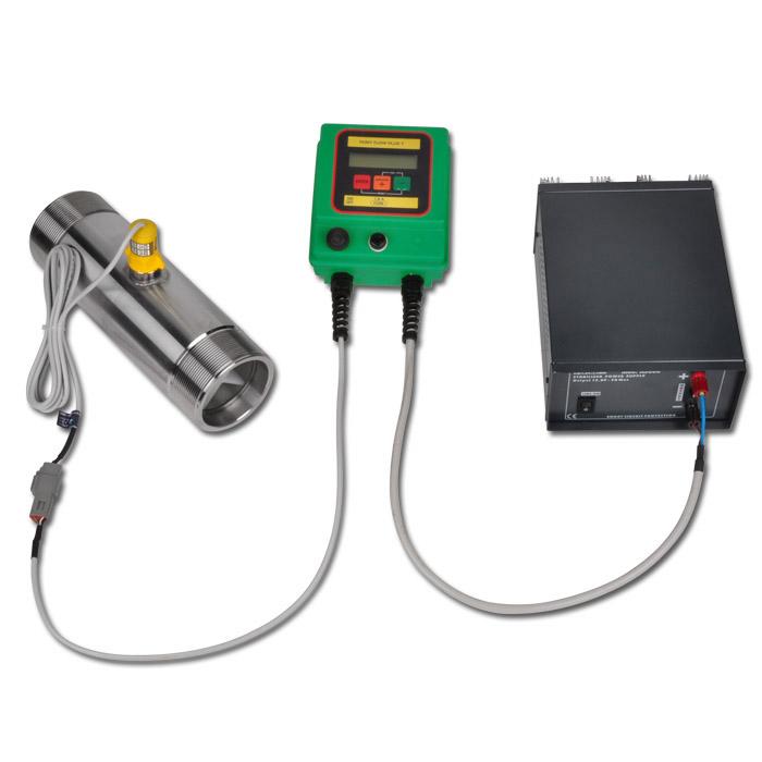 "Flowmeter - elektronisk - ""BINDA PONY FLOW CABLE"" - rustfrit stål"
