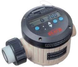"Flowmåler ""FMC 100 ETFE"" - 10 til 100 l / min - tilslutning 1½"" AG - 4 bar"