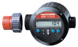 """Flowmeter """"FMJ 100 / PP"""" - 10-100 l / min - 60 ° C max."""
