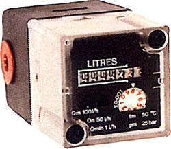 """Mekanisk Dieselolie meter BINDA CO-MINI 40 - for rør 1/8 """""""
