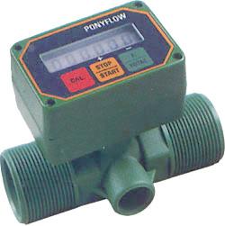 """Durchflussmesser - elektronisch - """"BINDA PONY FLOW NYLON"""" - verschiedene Ausführ"""