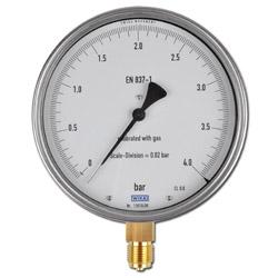 Precisione del calibro della manopola Classe 0.6 - Ø 160 millimetri 1200-1600 bar - verticale - ChNi