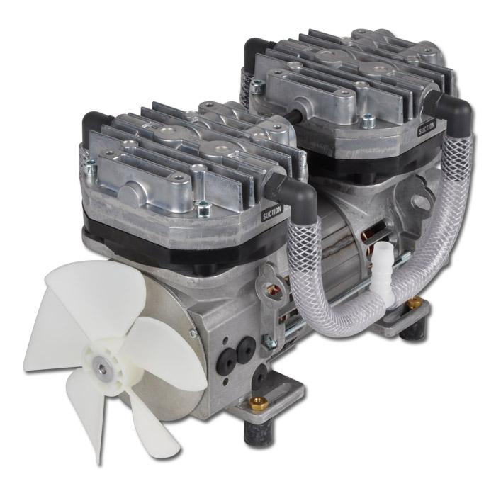 Membranpump - tryckluft/vakuum 8010Z AC - max. 72 liter/min