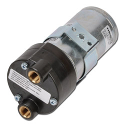 Pompa per vuoto a palette G 07-N - max. 20 l / min - max. 0,9 bar - vuoto max. -720 mbar - motore di armatura a campana