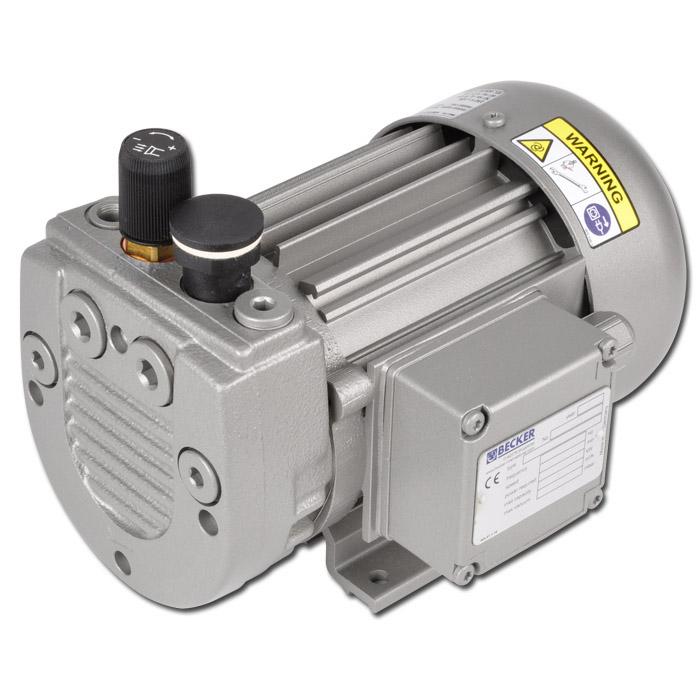 Trockenlaufende Drehschieberpumpe - Modell VT - max. Vakuum 150 mbar - Saugleistung 4,1 bis 8,0 m³/h