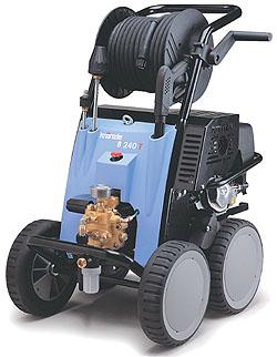 Högtryckstvätt KRÄNZLE - 160 bar - 12,5 l/min - kallvatten - bensinmotor