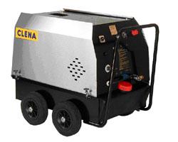 Högtryckstvätt - uppvärmd - mobil - dieseldriven