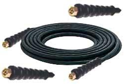 Högtrycksslang för högtryckstvätt NW10 - 500 bar -  svart gummi
