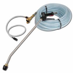 Niederdruck-Sprühsystem NSK - mit Chemiezudosierung - zum direktem Anschluss Wasserleitungen - verschiedene Ausführungen
