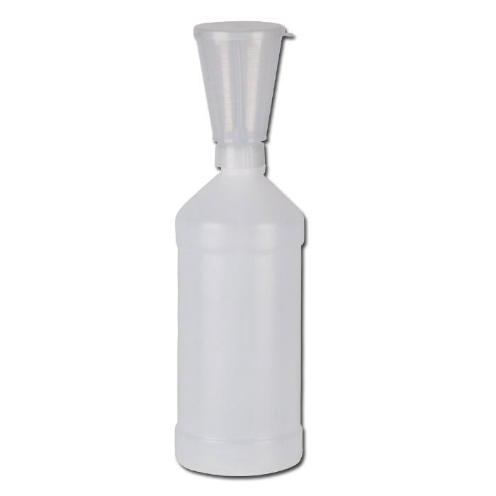 Dosierflasche - LDPE - Volumen 0,5l u. 1l - versch. Skalierungen