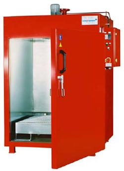 Värmekammare för 2 fat 200 l - 200°C temperaturområde