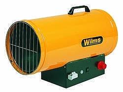 Heißluftgebläse GH 50 TH - 25-50 kW  - 1400 m³/h - komplett - mit Automatik Zündung
