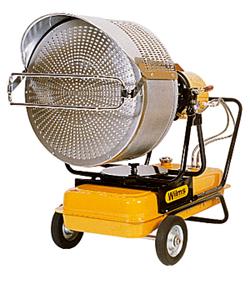 """Infrarot-Strahler """"VAL 6"""" - 40 kW - vertikal und horizontal ausrichtbar"""