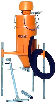 Industri - Tryckluftsugsystem - NE74-Silo