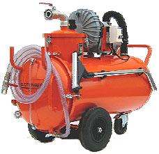 """Saugwagen """"Liquamat DS"""" - für Öl und Späne - 3000 W - 350 m³/h - Fassungsvermöge - inklusive Zubehörset ZS-07"""