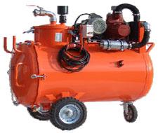 """Saugwagen """"Liquamat HV"""" - 4,0 kW - 260 m³/h - Saughöhe bis 8,5 m - Fassungsvermögen - inklusive Zubehörset ZS-07"""