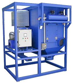 Mobilt filtersystem - för extraktion av torrt damm - patronfilter
