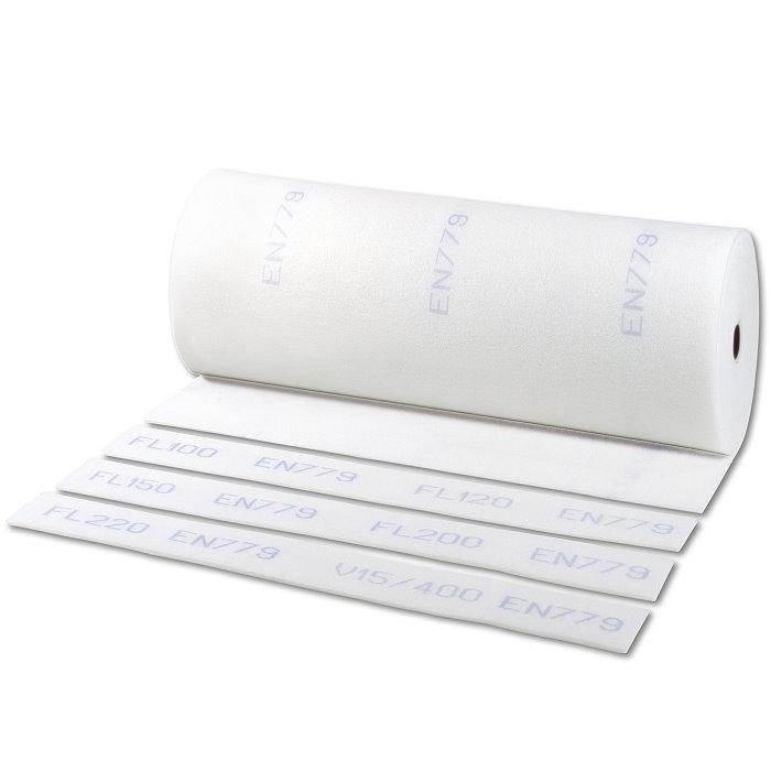 Filtermatta G4(EU4) - polyester - rullängd 20 m - tjocklek 22 mm