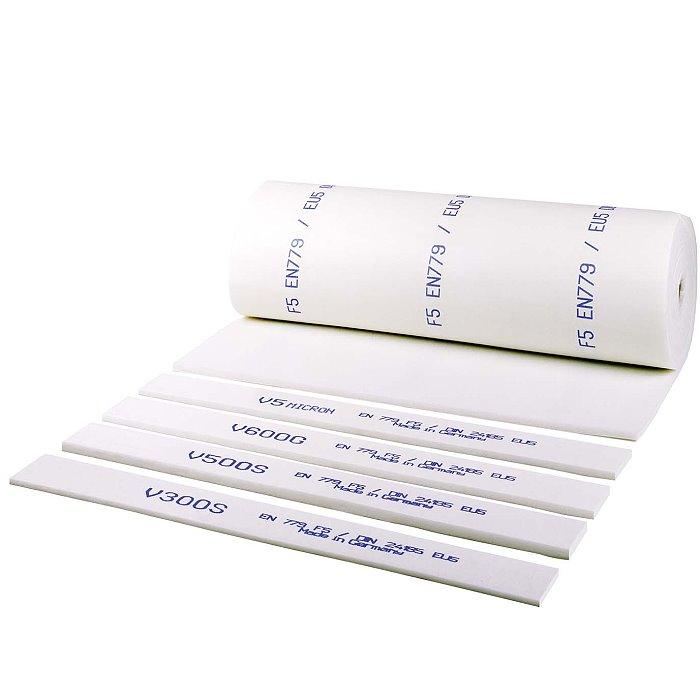 """Filtermatten - Polyester Feinstaubfiltermatte F5(EU5) """"V 300S-weiß"""", Filterstärk"""