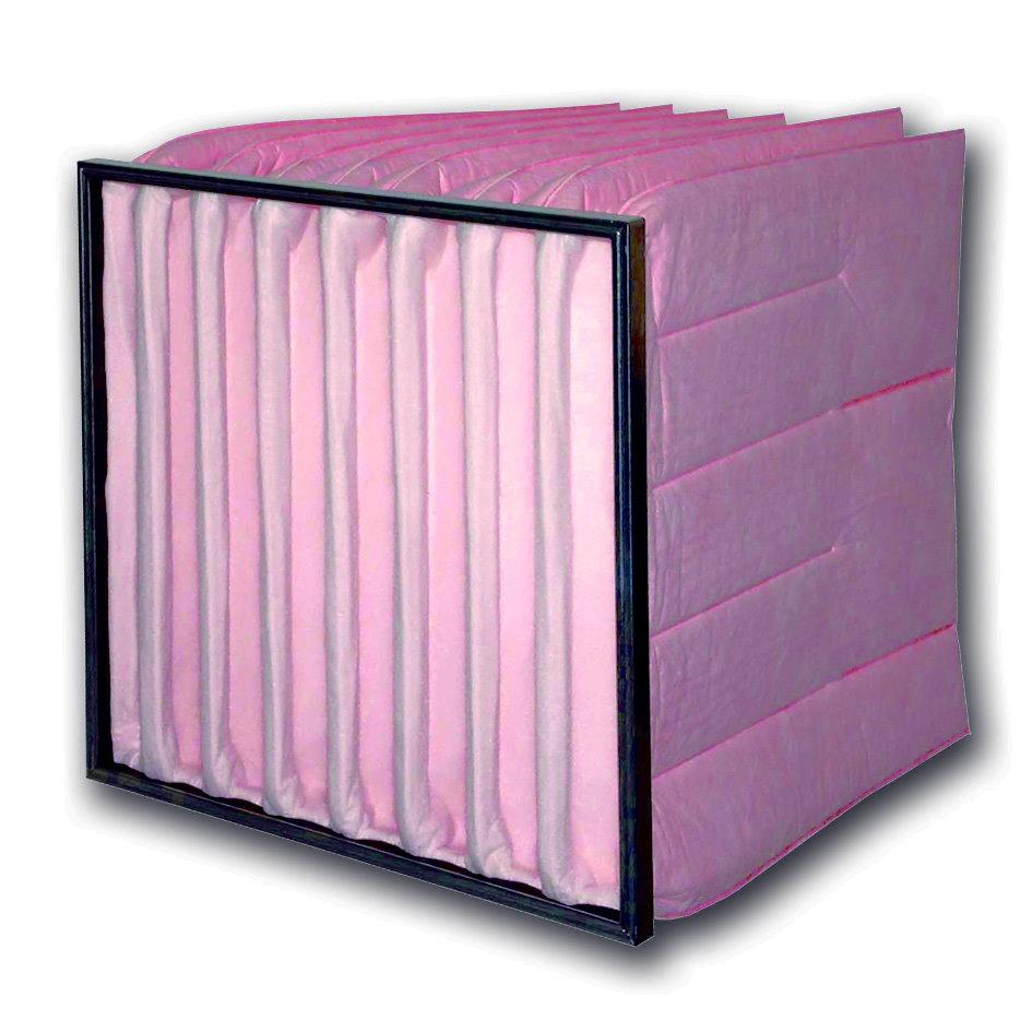 Taschenfilter Synthetik - Filterklasse F5 - Tiefe 200 bis 635mm