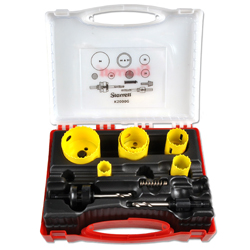 "Hole Saw Kit - Dual Pitch - For General  Bi-Metal Applications ""Starrett"""