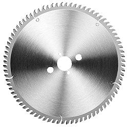 Tisch-Kreissägeblatt für Ne-Metalle - Spanwinkel positiv - Ø 250-600mm
