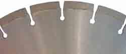 Diamanttrennscheibe  für Marmor - 7 mm Segmenthöhe - gelötet Typ CD 4805