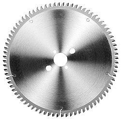 Tisch-Kreissägeblatt für Ne-Metalle - Spanwinkel negativ - Ø 250-400mm