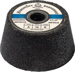 Schleiftopf A 16 R Supra - für Stahl - sehr grob - Preis per Stück