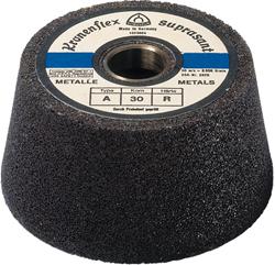 Schleiftopf A 30 R Supra - für Stahl - mittelgrob