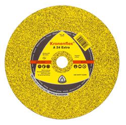 Trennscheibe - Metall Härte mittel - Ø 100 - 230 mm - 80m/s Kronenflex A 24 Extr