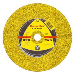 Katkaisulaikka - metalli kovuus keskikova - Ø 100 - 230 mm - 80 m/s Kronenflex A 24 Extra