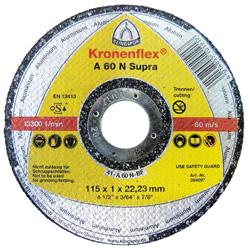 Trennscheibe - für Alu und NE-Metalle - Härte weich - Ø 115-125mm - A 60 N Supra